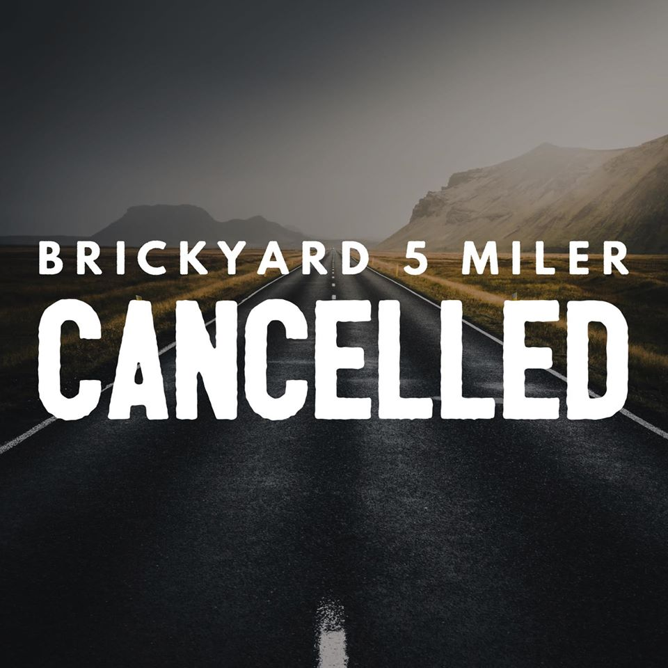 ⚠️⚠️COVID-19 RACE UPDATE⚠️⚠️ After much contemplation and in cooperation with the VA Government and Health Officials, we have decided to cancel the Brickyard 5 Miler this year. As much as we love this race, we care far more for the safety and health of our runners, their families, and our community. We will come […]